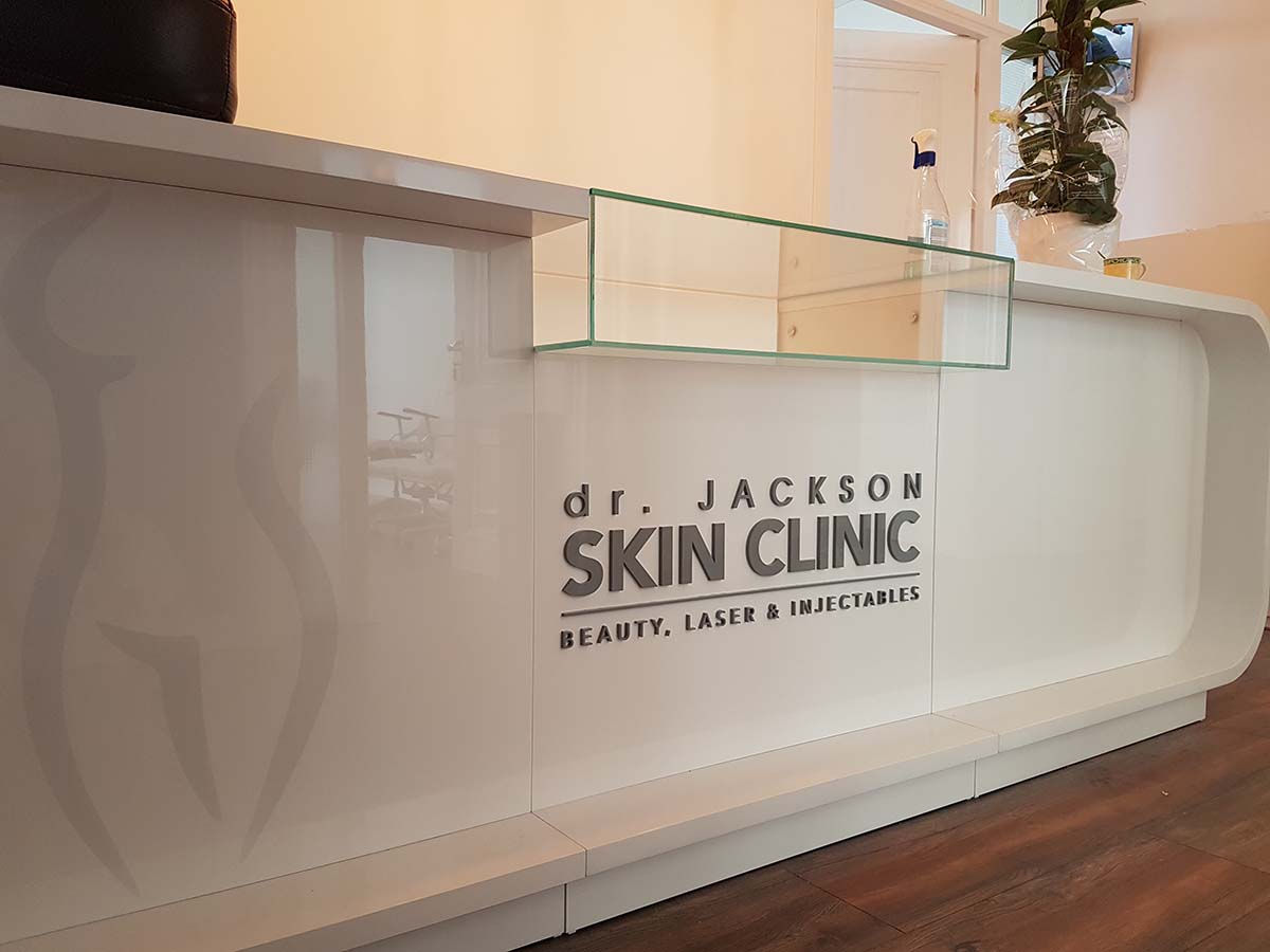 Interieur styling project bij Dr. Jackson Skinclinic